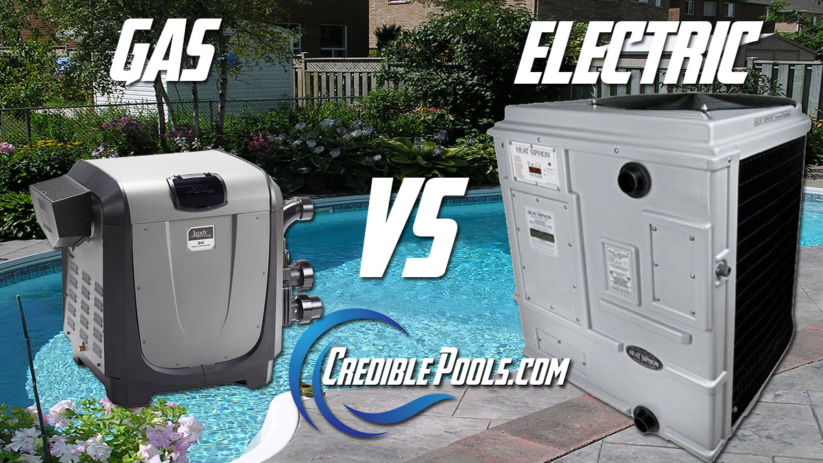gas vs electric pool heaters