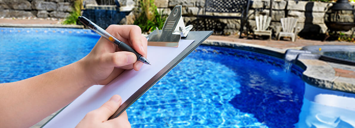 Pool Real Estate Inspection